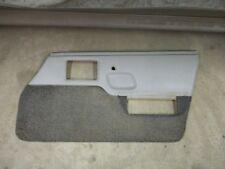 84-88 PONTIAC FIERO PASSENGER SIDE RH DOOR TRIM PANEL GREY GRAY POWER WINDOW SE