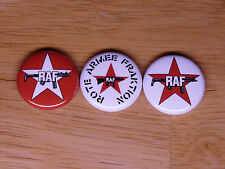 RAF Red Army Faction buttons pins badges marxist Rote Armee Fraktion germany