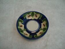 Decorative Cali Lilly Bowl Hand Painted Ceramic Mexico 7� Diameter x 2� Deep