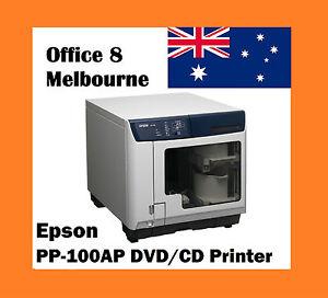 BRAND NEW Epson PP-100AP Automatic CD/DVD InkJet Printer + 100 FREE DVD/CD