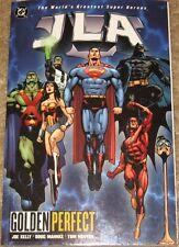 Dc Comics Jla Golden Perfect Tpb High Grade Modern Age Comic Batman Superman Etc