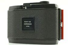 【NEAR MINT】 HORSEMAN 6x9 8EXP/120 Roll Film Holder from JAPAN