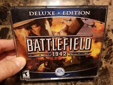 Battlefield 1942 - Deluxe Edition - (PC,2003) new opened item never played mint!