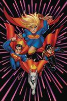 SUPERGIRL #31DC COMICS  COVER B 1ST PRINT VIRGIN  KRYPTO
