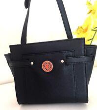 NWT Anne Klein Bag Clean Scene Black Crossbody Bag Purse $65