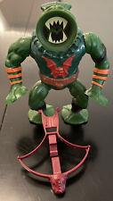 MOTU, Leech, Masters of the Universe, figure, complete, vintage, crossbow He Man