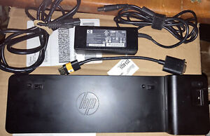 HP 2013 HP UltraSlim Docking Station D9Y32UT#ABA With 2x Display Ports