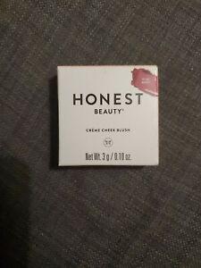 Honest Beauty Crème Cheek Blush, Plum Berry, Paraben Free Talc Free 0.10 oz.NEW