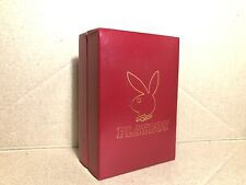 Playboy Genuine Playing Cards Very Rare Edition in Leather Case