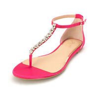 BADGLEY MISCHKA Womens Gabby Fabric Open Toe Casual Ankle, Pink Satin, Size 5.5