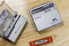 Sony MZ-N1 Type-R Net MD LP Walkman MiniDisc G-Protect Accessories USED LOT 02