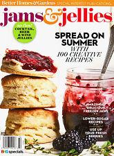 Better Homes & Gardens: JAMS & JELLIES Magazine ~ Fresh Creative Recipes ~ NEW