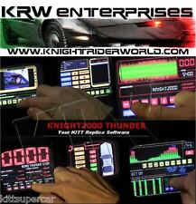 1982 PONTIAC FIREBIRD KNIGHT RIDER KITT KARR K2000 THUNDER SOFTWARE PC WINDOWS