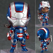 Nendoroid 392 Iron Patriot Hero's Edition Iron Man 3 Marvel Action Figure Japan