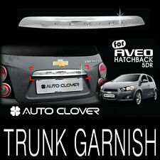 Rear Trunk Garnish Chrome Trim For 11-16 Chevy Sonic 5d : Aveo 5d