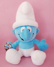 GROUCHY SMURF 42CM LARGE THE SMURFS VINTAGE PLUSH DOLL KID BABY SOFT TOY GIFTS