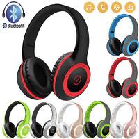 New Bluetooth V4.0 Headphones Wireless Foldable Gaming Headband Headset with Mic