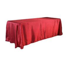 145x320cm Satin Tablecloth Cover Banquet Wedding Party Decor 21 Colors Special