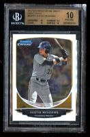 2013 Bowman Chrome Austin Meadows Rookie BGS 10 Pristine RC w 9.5 Corners