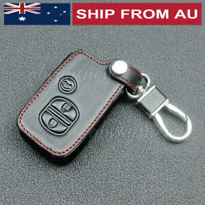 Remote Key Cover Leather Car Key Case For Subaru Forester XV Outback Legacy