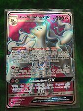 Alola-Vulnona GX - 205/214 SM8 Echo des Donners - Fullart DE Pokemon