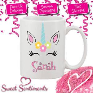 Personalised Unicorn Your Name Mug