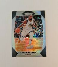 2017-18 Panini Prizm Prizms Silver #44 Kevin Durant Warriors SP Refractor