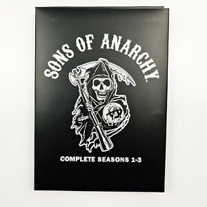 Sons Of Anarchy: (Blu-ray) Complete Seasons 1-3 (9 Disc) Metal Tin -TRACKED POST