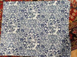 Ralph Lauren BLUE PORCELAIN TAMARIND STANDARD Shams Bird/Floral New