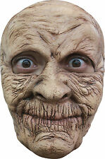 Latex Old Woman Witch Mask Lined Face Scary Horror Fancy Dress Halloween NEW