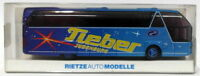 RietzeAutoModelle HO Gauge 1/87 Scale R28 Neoplan Cityliner Coach - Blue