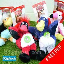 KONG Wild Knots Bird Dog Toy Strong bear Knot Rope Squeak Plush