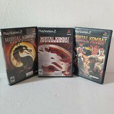 Mortal Kombat Kollection PlayStation 2 PS2 - Deception Armageddon Shaolin Monks