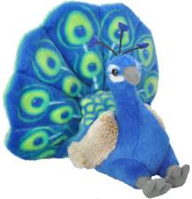 """Wild Republic Cuddlekins 8"""" Peacock Bird Plush Soft Toy Cuddly Teddy 13811"""