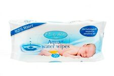 Aqua + Water Wipes  Sensitive skin, 99.25% water  CASE SAVER