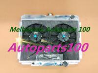 3 rows aluminum radiator & fans for Ford Mustang 1967-1970 & Fairlane 1969 V8