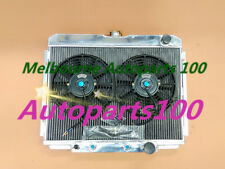 3 rows aluminum radiator & fans for Ford Mustang 1967-1970 & Fairlane 1969 V8