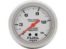 "Auto Meter 4411 2-5/8"" Ultra-Lite Mechanical Fuel Pressure Gauge 0-15 psi"