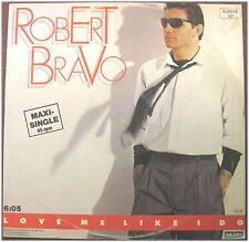 Robert Bravo, Love Me Like I Do, g/vg, maxi single PE (8235)