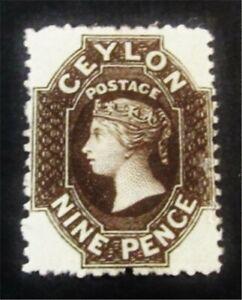 nystamps British Ceylon Stamp # 55a Mint OG H $70 F26y1934