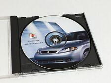 2005 Suzuki Aerio Reno Forenza Verona XL-7 Grand Vitara Press Kit