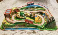 VINTAGE 1965 TECHNOFIX 312 ROCKY MOUNTAINS TRAIN WORKS!! W/ORIG BOX!