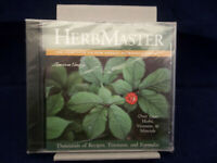 Herb Master The Complete CD-ROM Herbal Reference Library Recipe Reference CD-ROM