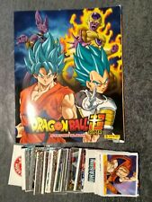 ***** DRAGON BALL SUPER - ALBUM PANINI COMPLET ALBUM + 180 STICKERS NON COLLER