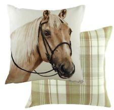 "17"" Palomino Horse Cushion Evans Lichfield CV080 43cm Waggydogz"