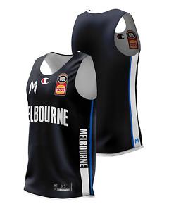 Melbourne United 20/21 Reversible Training Jersey, NBL Basketball