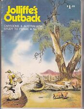 Jolliffe's Outback #111 Cartoon and Australiana 1981