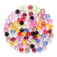 50pcs Shank Mixed Acrylic Buttons Home Sewing Scrapbooking Decor Clothing 12mm