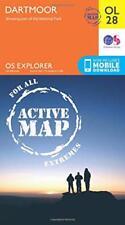 OS Explorer ACTIVE OL28 Dartmoor (OS Explorer Map Active) by Ordnance Survey | M