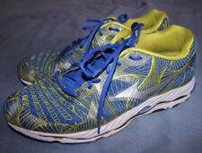 Mizuno Wave Paradox Hombre Azul Zapatillas Running Shoes Size UK 10 condición usada